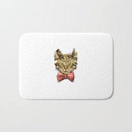 Bow Kitty Bath Mat