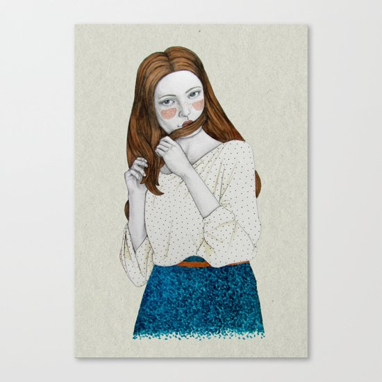 Clementina Canvas Print