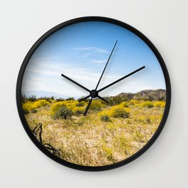 Super Bloom 7284 Paradise Joshua Tree Wall Clock