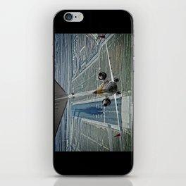 Flap fail landing iPhone Skin