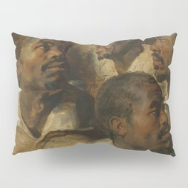 Four Studies of a Head of a Moor by Peter Paul Rubens Pillow Sham