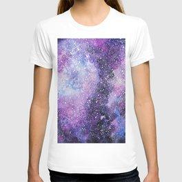Space. Watercolor T-shirt