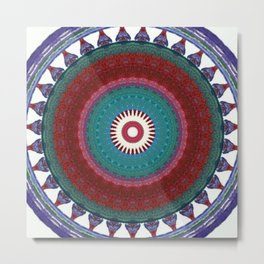 Internal Totem Metal Print
