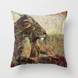 Fire, Wind and Spirit Throw Pillow