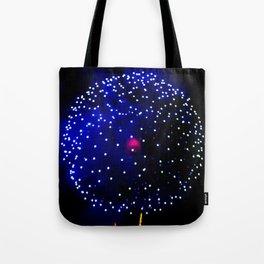 Cellular Firework Tote Bag