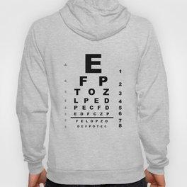 Eye Test Chart Hoody