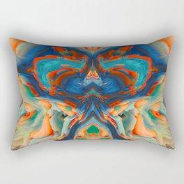 vivid petals Rectangular Pillow