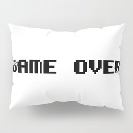 Game Over Pillow Sham