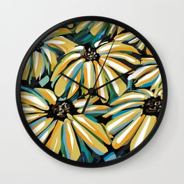 Rudbeckias Wall Clock