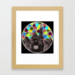 parc guell wonderland Framed Art Print