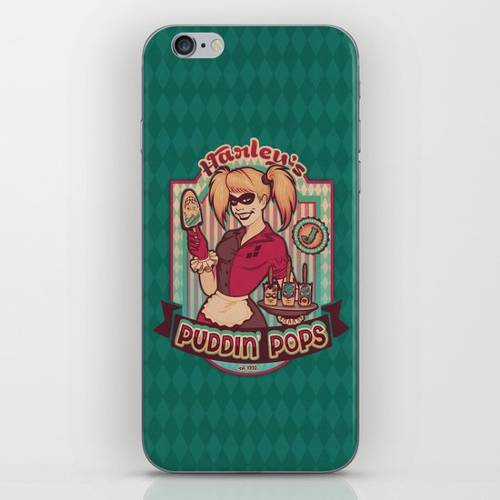 Harley's Puddin' Pops iPhone & iPod Skin