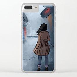 Streets of Seoul, Korea Clear iPhone Case