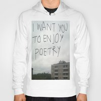 poetry Hoodies featuring poetry by Willow Summers