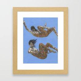 Falling Faith Framed Art Print