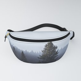 Wanderlusting within the trees Fanny Pack