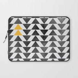 Triangle - Yellow II Laptop Sleeve