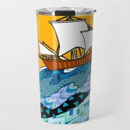 Sailing the High Seas Travel Mug