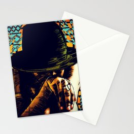 Cool hat Stationery Cards