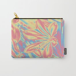 colorful blossoms Carry-All Pouch