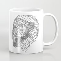 lebron Mugs featuring Basketball King by NINE PROJECT