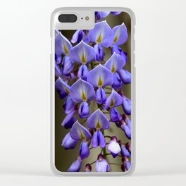 Blue Over You Clear iPhone Case