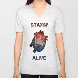The Need to Live Unisex V-Neck