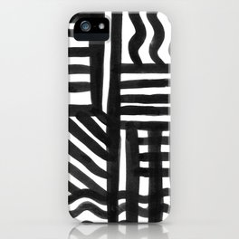 Ink Pattern iPhone Case