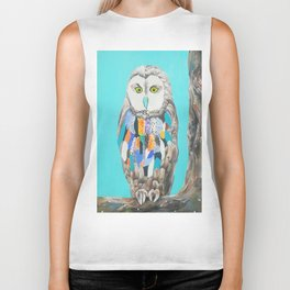 Imaginary owl Biker Tank