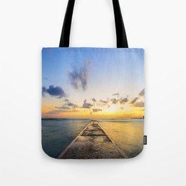 Golden Hour in Waikiki Tote Bag