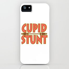 Do a Cupid Stunt this holiday to your friends and family! Show them you love them with this cute tee iPhone Case