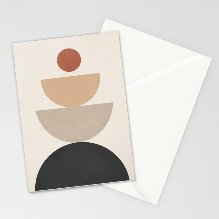 Geometric Modern Art 31 Stationery Cards