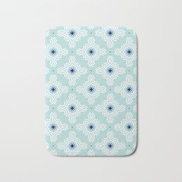 Ornamental snowflakes Bath Mat