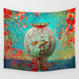 opium field Wall Tapestry