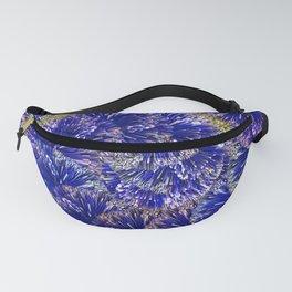 Blue glitter garland Fanny Pack