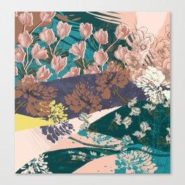Flower Textures 03 Canvas Print