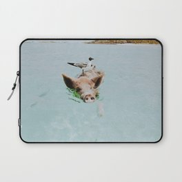 lets swim Laptop Sleeve