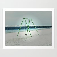 Stillgestanden - Standing still Art Print