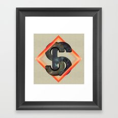 S6:  Society6 Universe Framed Art Print