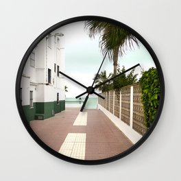 Road to the Beach - Landscape Photography Wall Clock