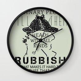 Ordinary People Wall Clock