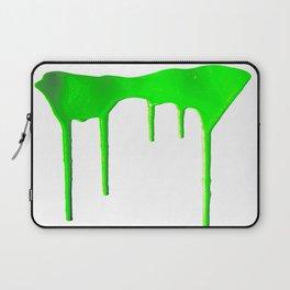 Green Splatter Laptop Sleeve