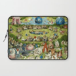 The Garden of Earthly Delights by Hieronymus Bosch Laptop Sleeve