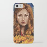 amy pond iPhone & iPod Cases featuring Amy Pond Vincent van Gogh Doctor Who by SachsIllustration