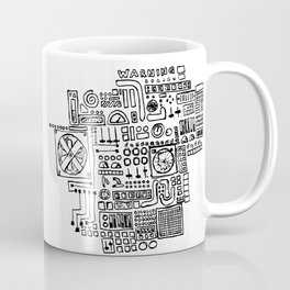 danger, danger, will robinson! Coffee Mug