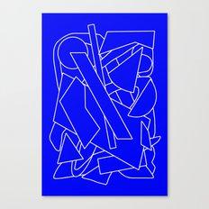 BluE humble Canvas Print