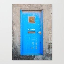 The Blue Door Canvas Print