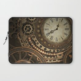 Steampunk Clockwork Laptop Sleeve