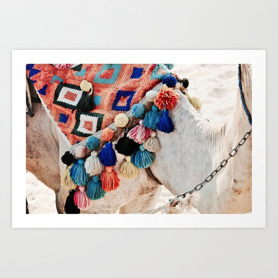 EGYPTIAN CAMEL Art Print