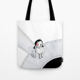 Boat Pond Tote Bag