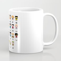 Pixel Star Trek Alphabet Mug